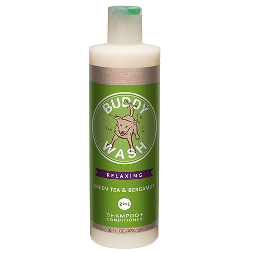 Buddy Wash Green Tea Shampoo + Conditioner 16oz