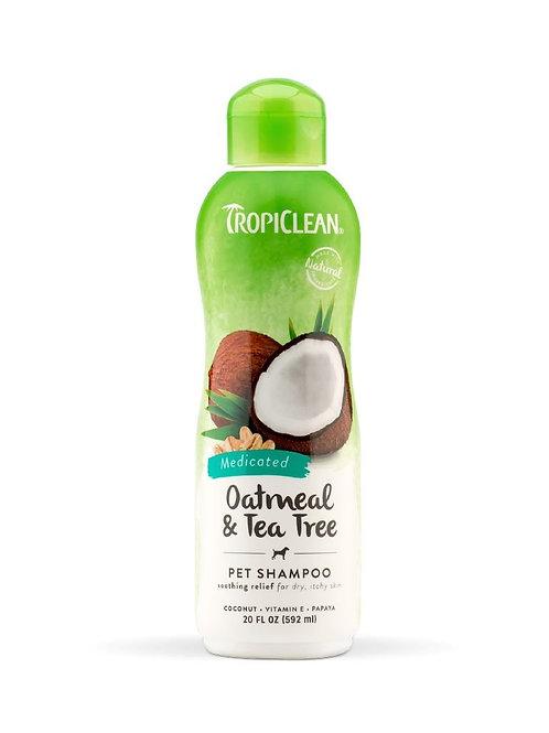 Tropiclean Medicated Shampoo 20oz