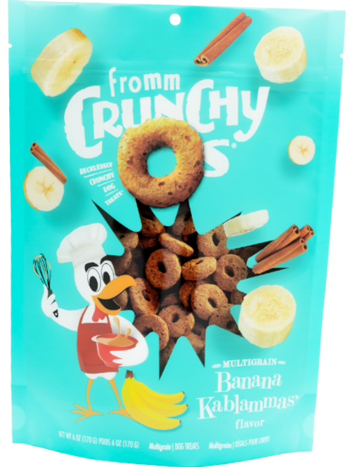 Fromm Banana Kablamma Crunchy Os