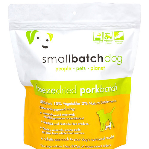 Smallbatch Freeze Dried Pork