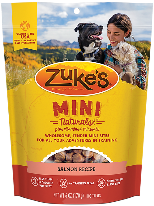 Zuke's Salmon Minis