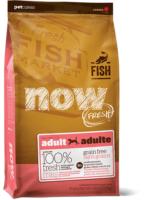 Petcurean Now Adult Fish 25lbs
