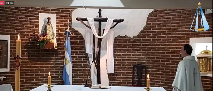 Celebración de la Ascensión del Señor y del 25 de Mayo