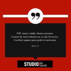 Avis du Studio MP'Online - Plateforme vi