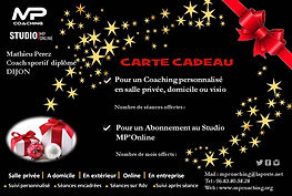 Carte cadeau Coaching sportif - Mathieu