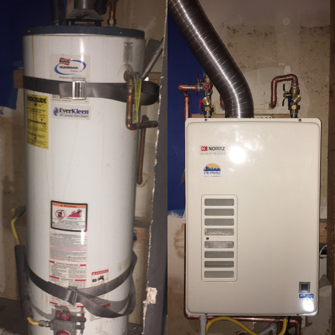 Nortiz Takeless Water Heater