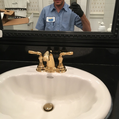 New Rohl Brass Faucet