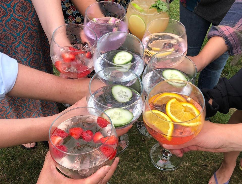 Gin and tonics