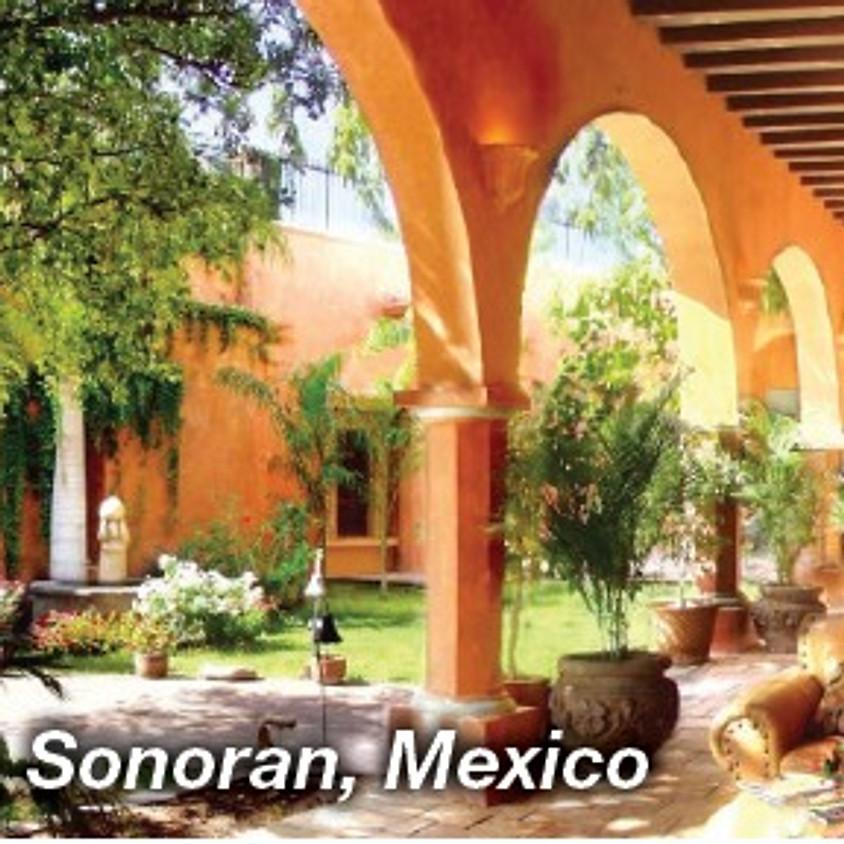 Live from Alamos!!  Happy Hour at the Hacienda de los Santos