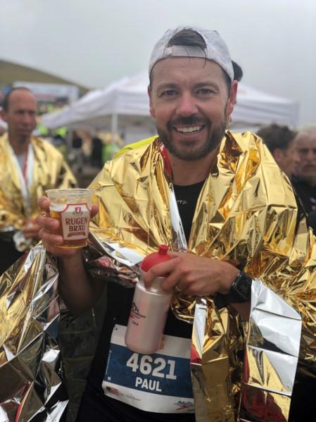 Paul Schoen was a SSCA representative in the Interlaken Jungfrau Marathon, Sept. 5-7, 2019