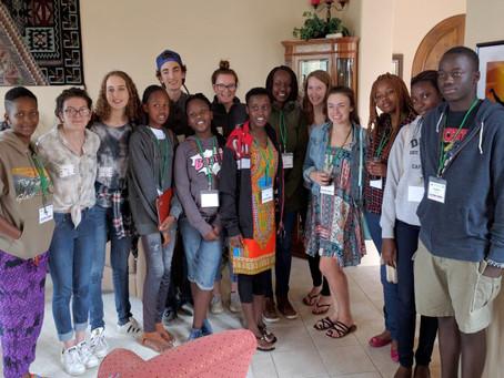 First Student Exchange from Uasin Gishu County, Kenya