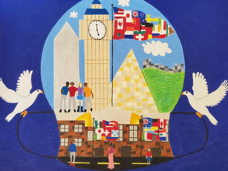 SCOTTSDALE'S YOUTH ARTIST AND AUTHOR SHOWCASE WINNERS COMPETE IN SISTER CITIES INTERNATIONAL'S COMPE