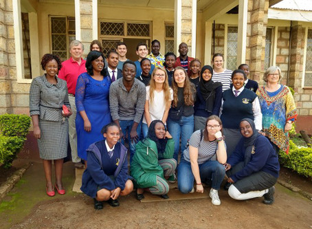 SSCA's First Student Exchange to Kenya