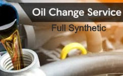 Full Syn Oil service with inspection