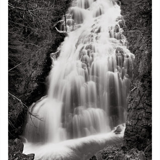 Crystal Cascade Waterfall White Mountains, NH