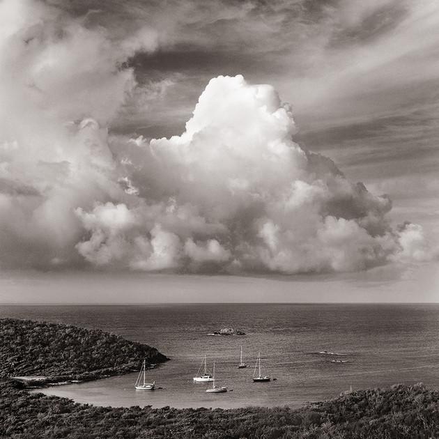 Thunderhead Over Salt Pond Bay