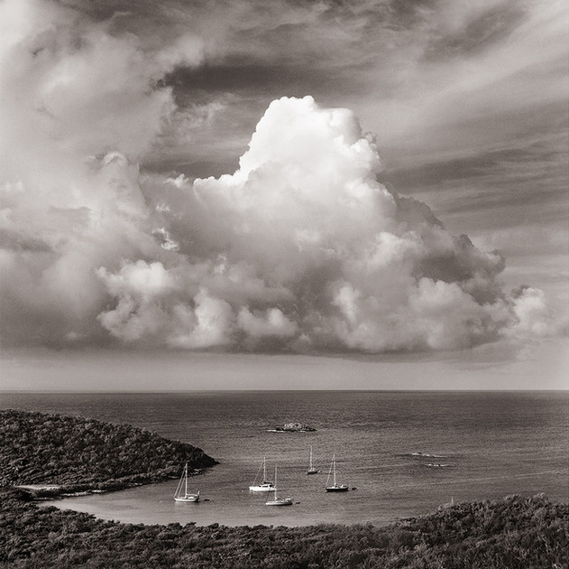 Thunderhead Over Salt Pond Bay