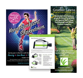 Brochure and Flyer Design by Phase 2 Graphic Communications