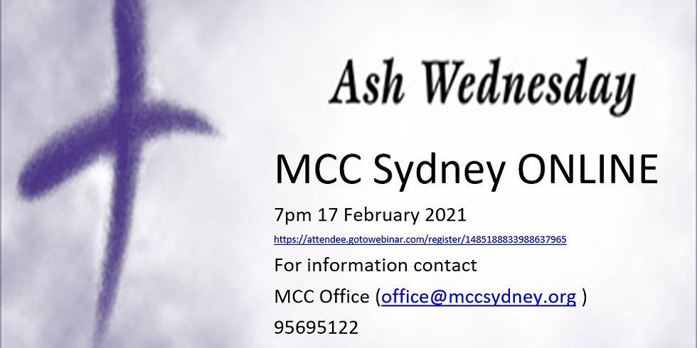 Online Ash Wednesday