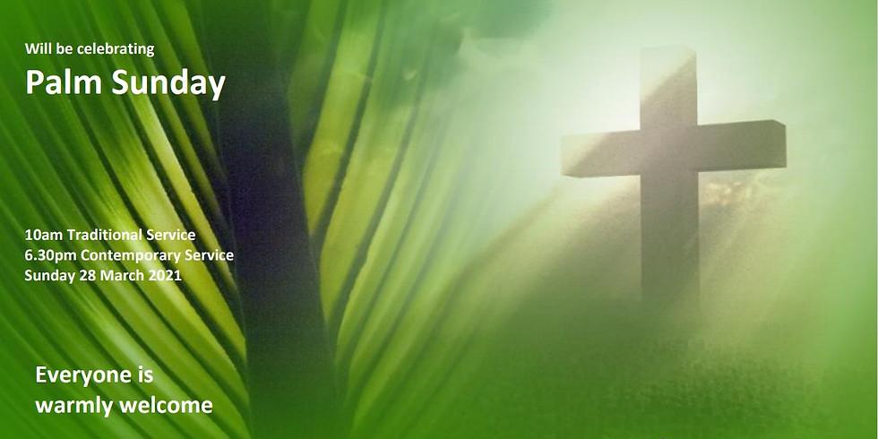 AM Palm Sunday Worship