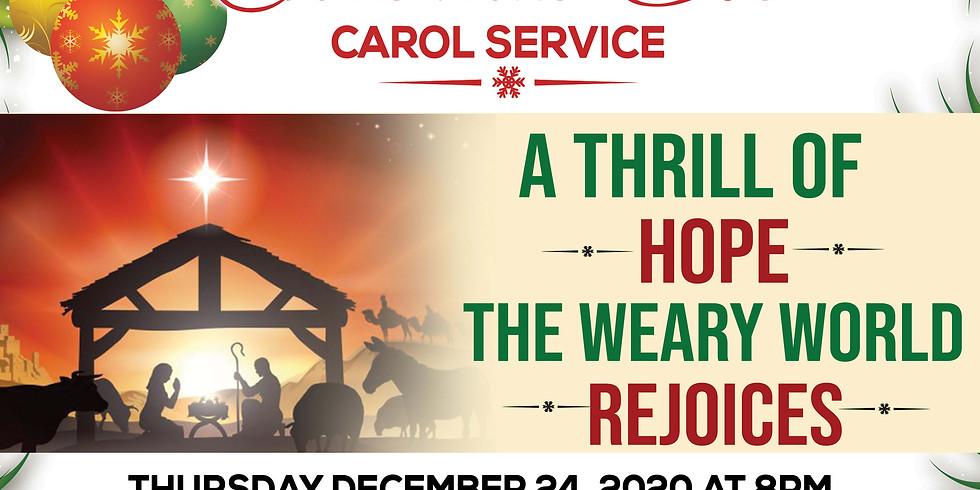 Online Christmas Eve Carol Service