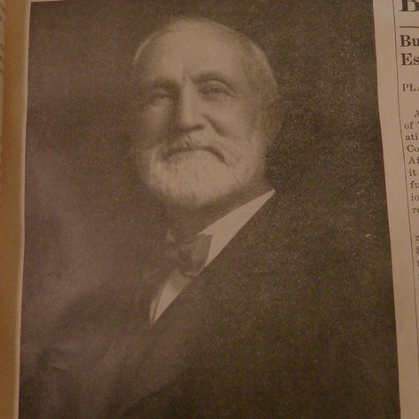 1891-1916 Mr. William Lyall - President of Brighton Mills