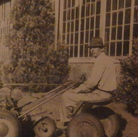 James Langston is responsible for Brighton's green lawns - 1945