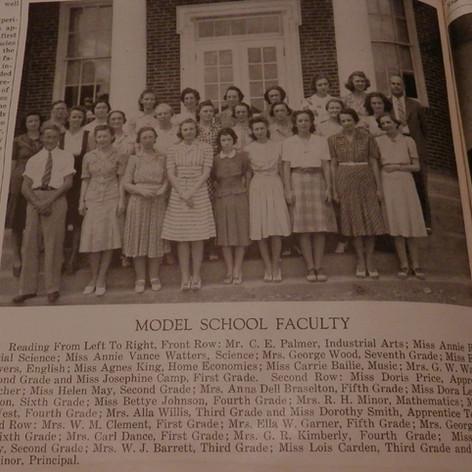 Model Faculty - 1941.