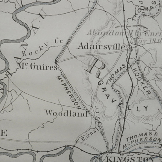 Early Map showing Watters District (1)