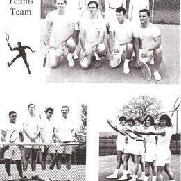 1967 Model tennis team