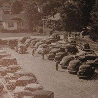 Brighton's New Parking Lot - 1940's