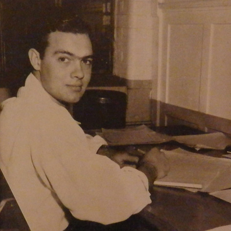 James Braden is assistant to Brighton's job analyst - 1947