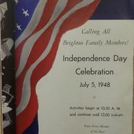 1948 Independence Day Program
