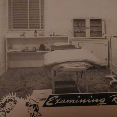 New Medical Examining Room - 1944