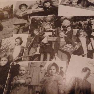 Children receiving Christmas Presents from Brighton Mill - (1) - 1947