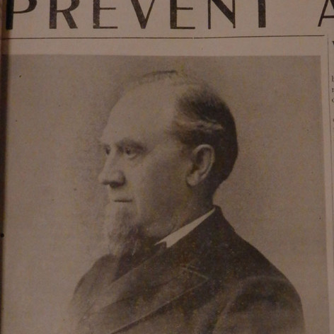 1879 - Chas M. Pratt - First President of Brighton Mills