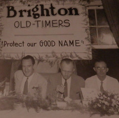 Brighton Mill Old Timers Banquet - 1943