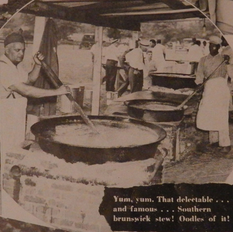 Cooking for 4th of July Celebration at Brighton - 1946