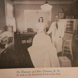 Dr. Dawson and Mrs. Dawson - 1941