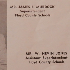 Floyd County Superintendent & Assistant Superintendent