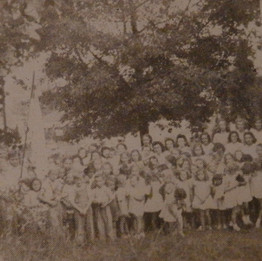 Vacation Bible School (3) 145 Participants - 1943
