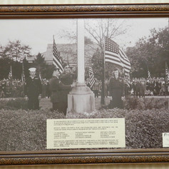 Brighton Mill's WWII Monument, erected 1946