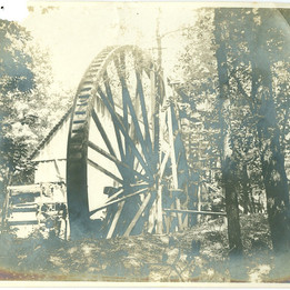 Mill Water Wheel at Hermitage
