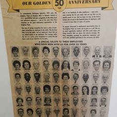 50th Anniversary - pg. 1
