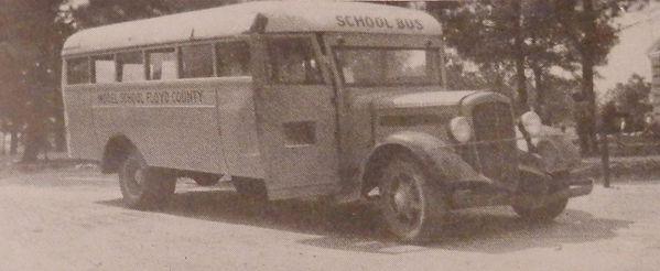 1936 Model School Bus