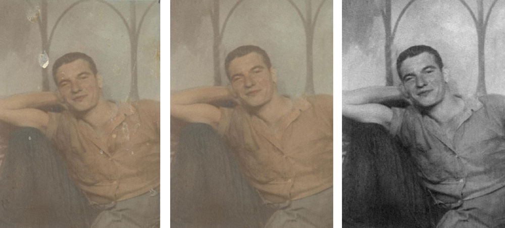 Images don't have to be nearly destroyed to warrant restoration.