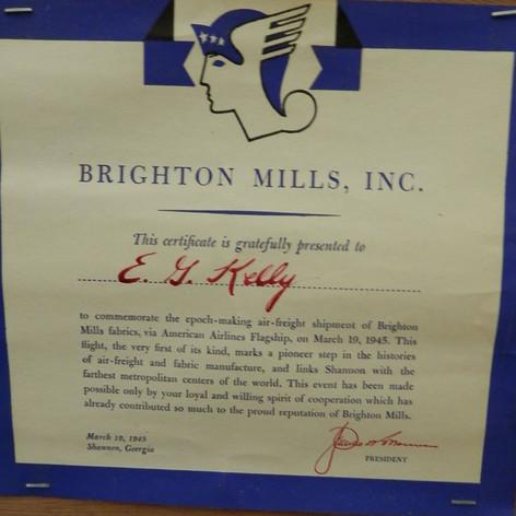 Ed Kelly - 1945