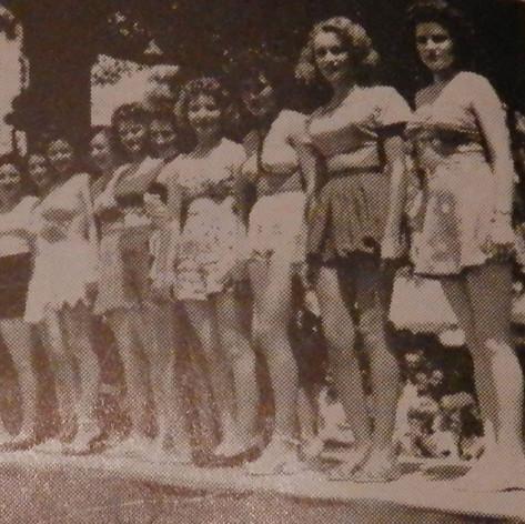 Beauty Pagent Participants - 1948