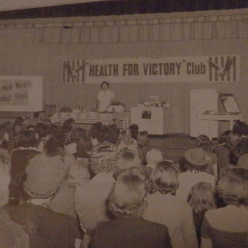 Brighton's Health for Victory Club - 1942