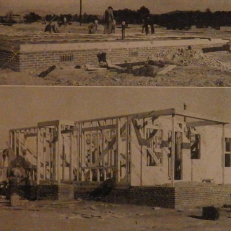 New Home Construction in the Village - 1947